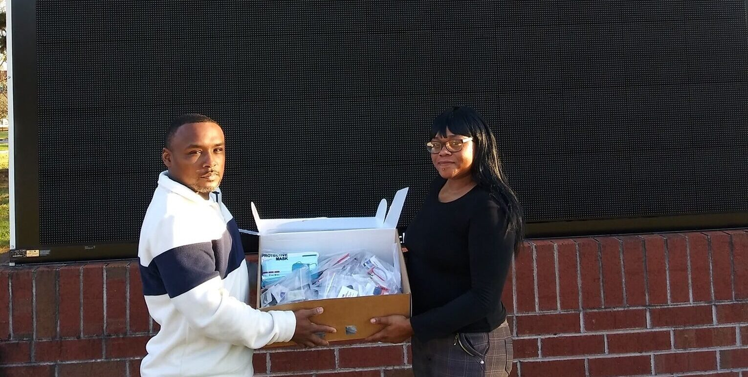 AVC Hygiene Kit Delivery to VA Hospitals