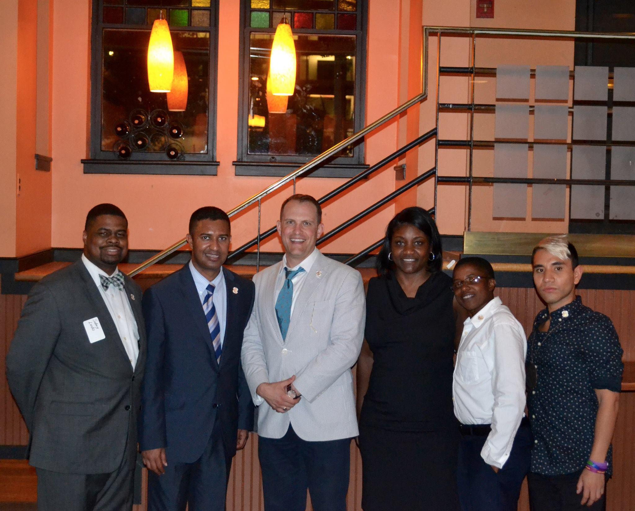 American Veterans Committee Reception