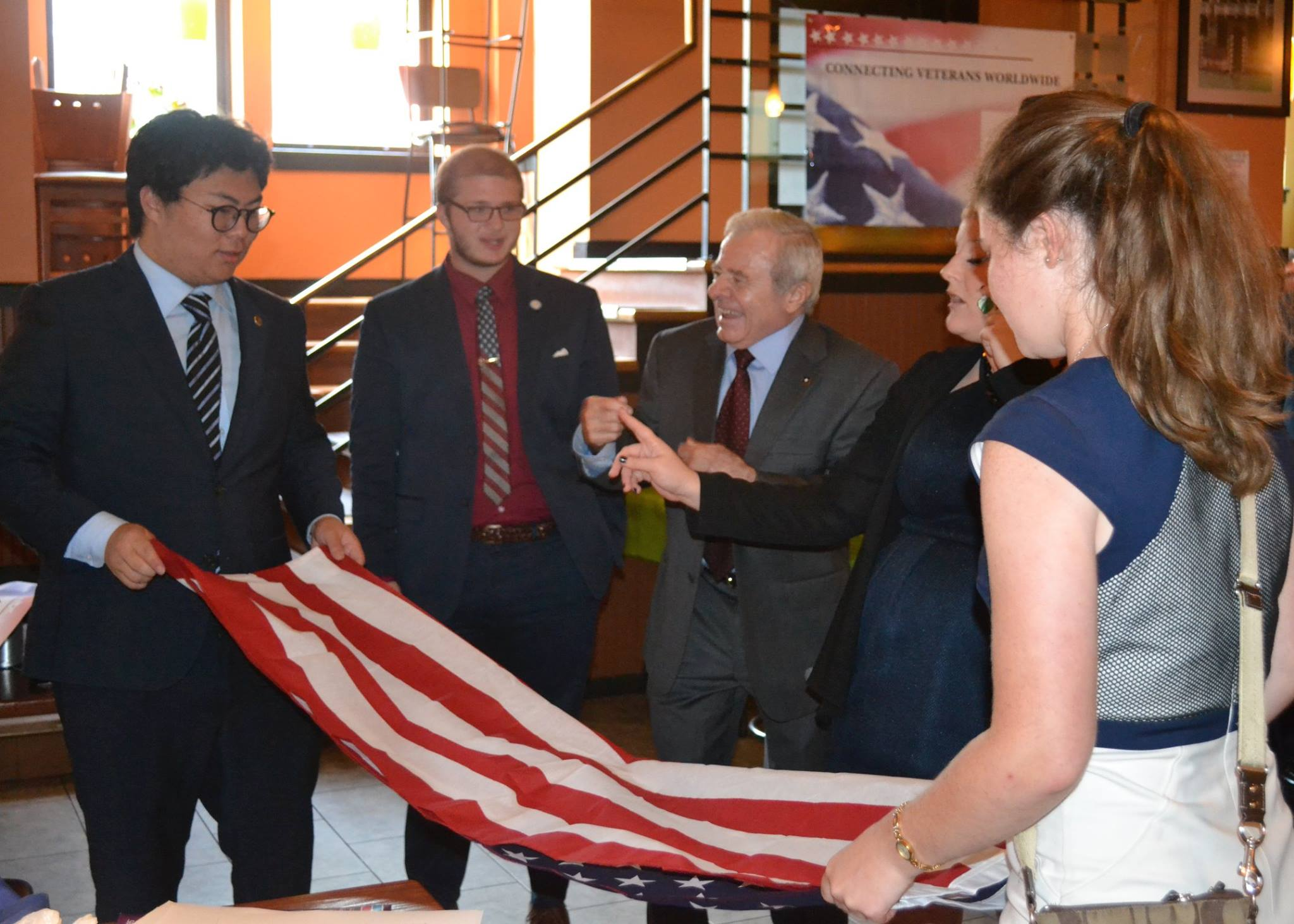 American Veterans Committee Reception
